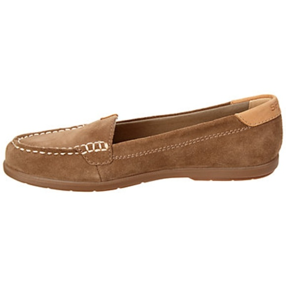 a66724bd817 SPERRY TOP SIDER Women Taupe Coil Mia Suede Shoes